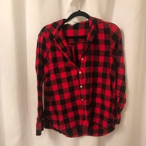 Old Navy Large Plaid Button Up